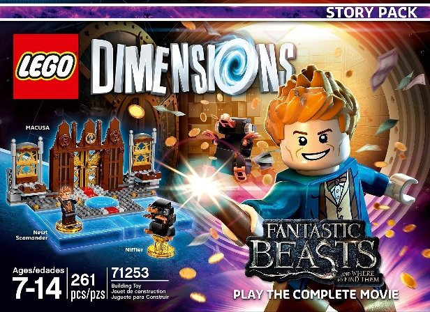 story pack fantastic beasts